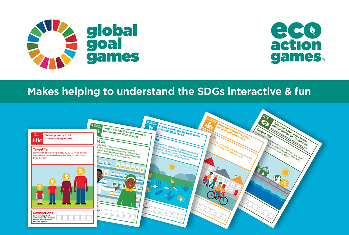 Global Goal games to help understand the Sustainable Development Goals SDG