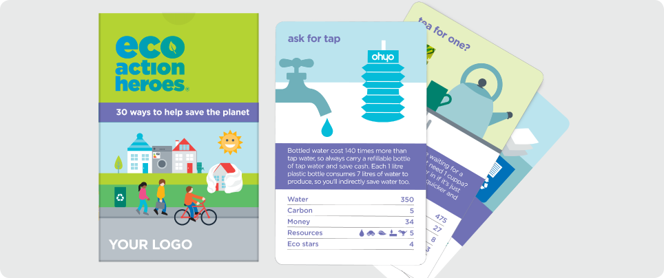 eco action heroes card game