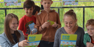 Horniman Museum 2015 – Giant eco action trumps challenge