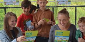Horniman Museum 2015 – Giant eco action trumps challenge