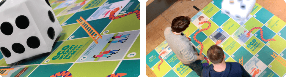 Eco Action Snakes & Ladders